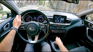 Kia Ceed [1.4 DOHC 100HP]    POV Test Drive #811 Joe Black