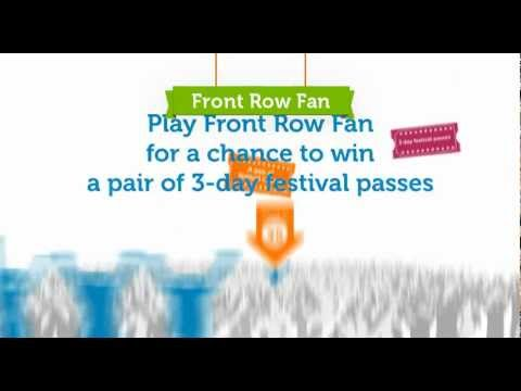 Play Front Row Fan to go to ACL Music Festival!