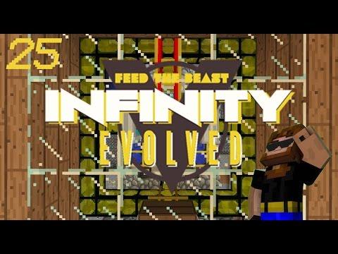 Minecraft: FTB Infinity Evolved - Ep.25 - Power Plant Upgrade!!