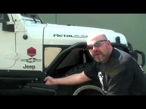 Introduction To Metalcloak Arched Overline Tube Fenders For Tj