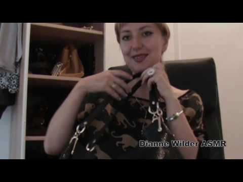Bags Collection ASMR, Leather Sounds and Gloves