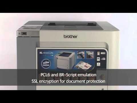 Brother HL 4050CDN Network Ready Duplex Colour Laser Printer