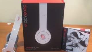 Beats by Dr Dre (Solo HD) White UNBOXING