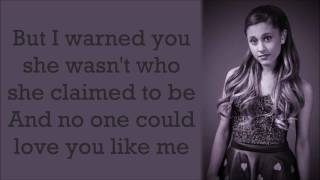 Ariana Grande ~ Nobody Does It Better ~ Lyrics