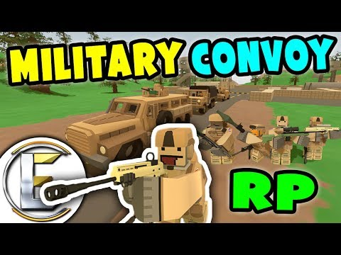 MILITARY CONVOY ROLEPLAY | Protect the convoy at all costs (Unturned RP)