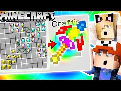 JAK ZROBI EPICKI TCZOWY KILOF ZA 100,000$ (Minecraft 1.13 Crafting) | Vito i Bella