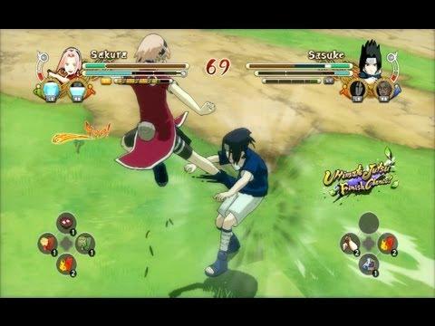 (PS3) PTS Sakura vs PTS Sasuke Naruto Ultimate Ninja Storm 3