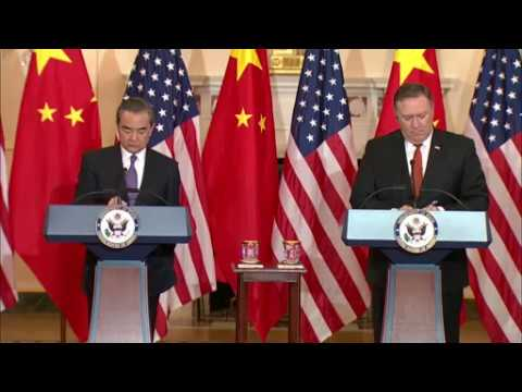 Secretary Pompeo Meets with Chinese State Councilor and Foreign Minister Wang Yi, DC, UNITED STATES