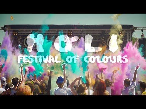 HOLI - FESTIVAL OF COLOURS! | Bad Aibling 2016