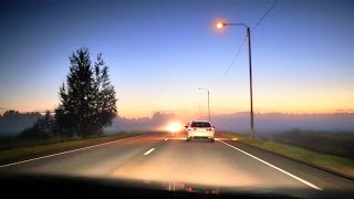 Night drive - Finland, Temmes - Kempele