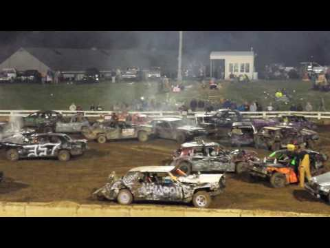 "Owenton Co Demo Derby 2016 ""REBEL RUMBLE"" MOTOR SWAP STOCK"