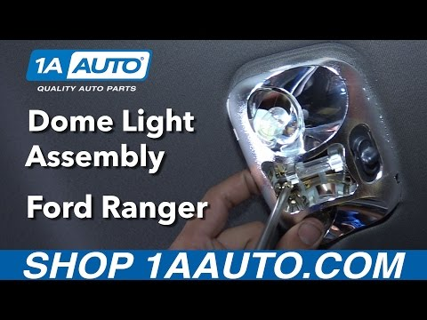 How to Replace Dome Light Assembly 98-03 Ford Ranger - YouTubeYouTube