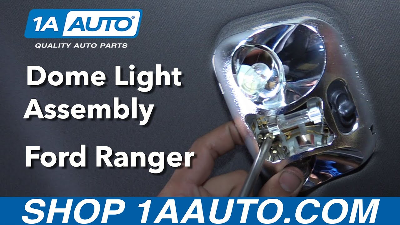 how to replace dome light assembly 98-03 ford ranger