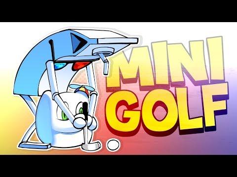 Guaranteed NO Stress Mini Golf! - Golf it (Funny Moments)