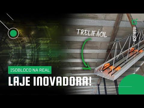 Super Inovação para Lajes - Trelifácil + Isolaje | ArcelorMittal + Isobloco