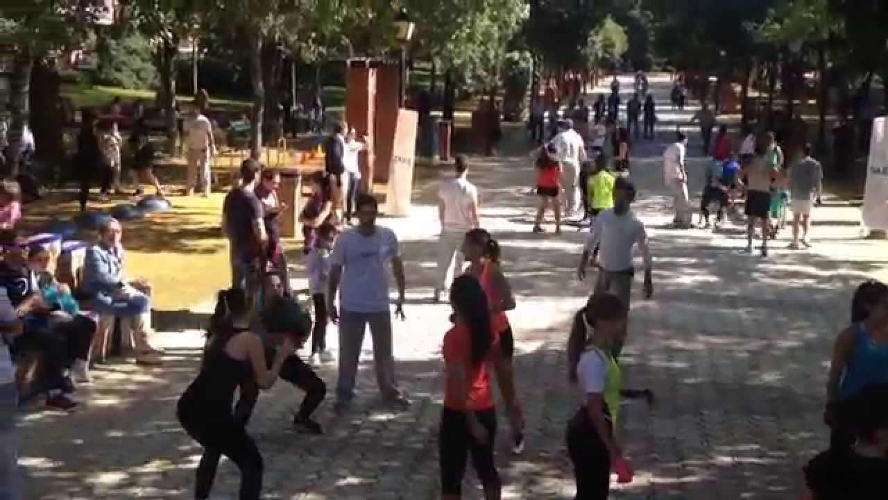 Talavera se mueve en los jardines del prado youtube for Calle prado 8 talavera dela reina