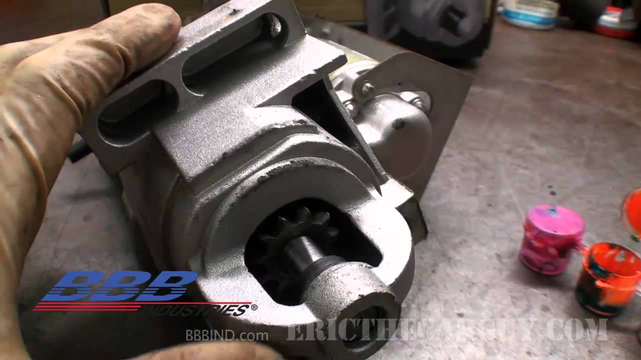 How to Properly Shim a Starter - YouTube