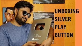 Unboxing Silver Play Button | 100,000+ Subscribers