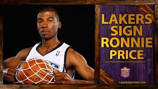 Lakers Sign Ronnie Price, Add Appling, Brown, Smith, Tyler To Training Camp Roster