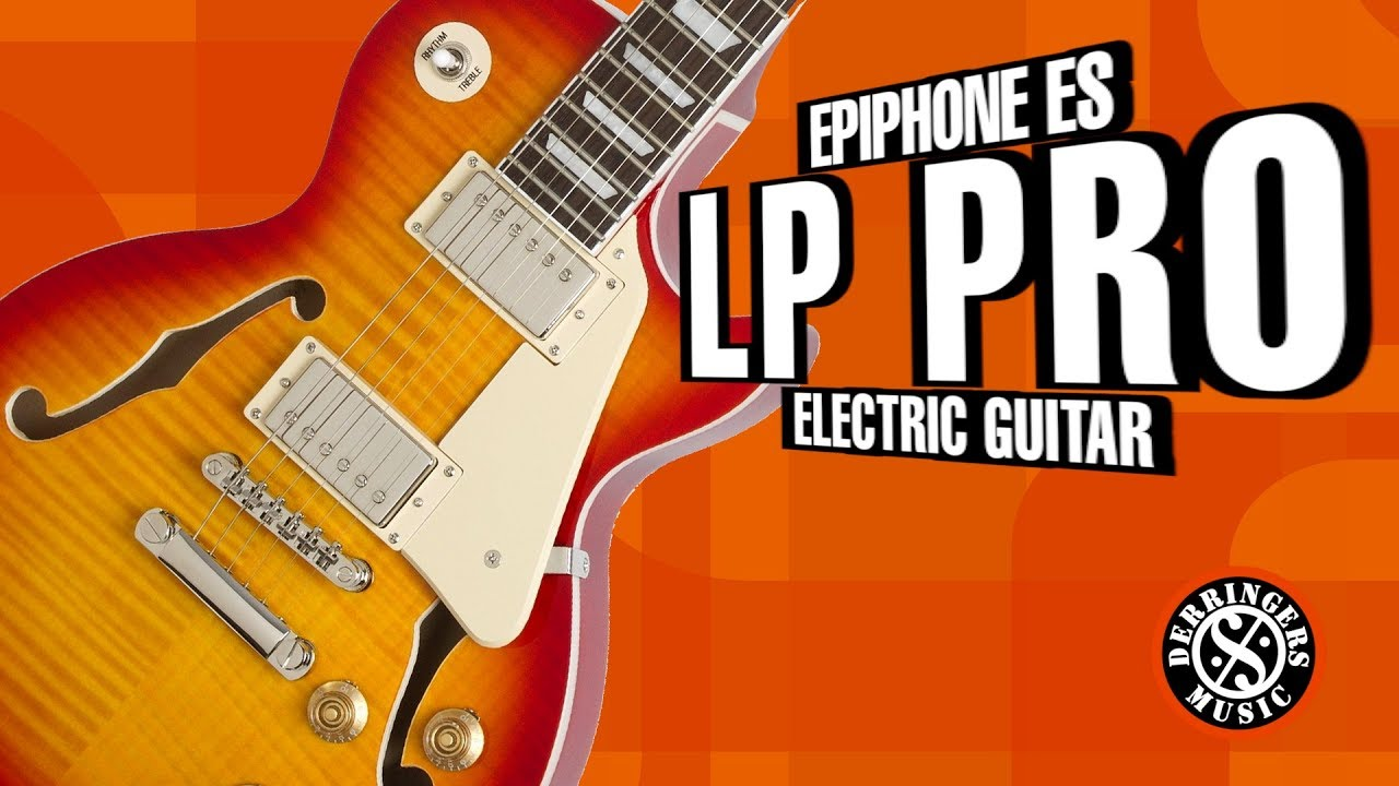 epiphone es les paul pro electric guitar youtube. Black Bedroom Furniture Sets. Home Design Ideas