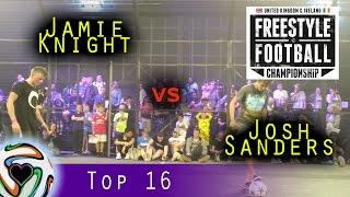 Jamie Knight v Josh Sanders | UKIFFC 2015 - Top 16
