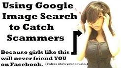 Using Google Image Search to catch scammers on social media