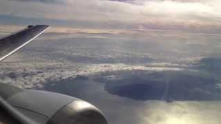 Air New Zealand Boeing 737-300 Takeoff from Auckland