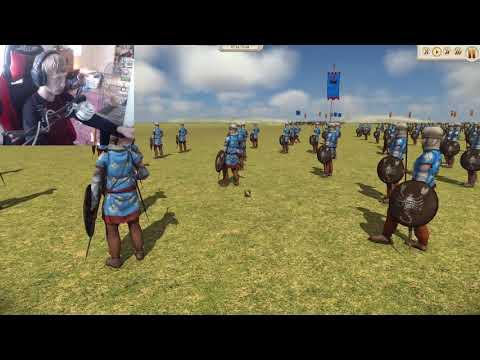 Rome total war Remastered   1v1 cwb battle  