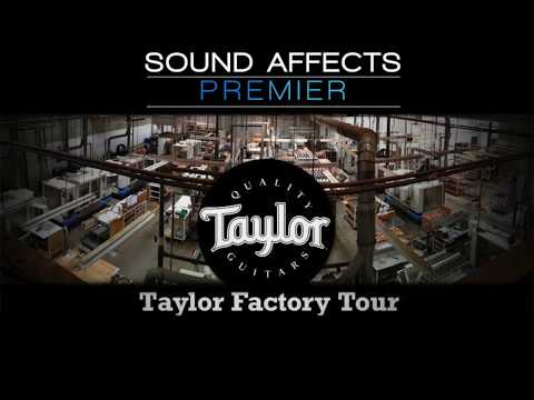 Taylor Factory Tour - Custom Guitars