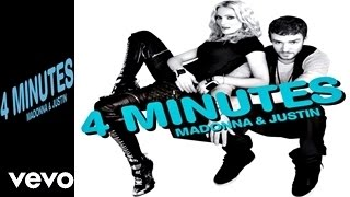 MADONNA - 4 Minutes (Album Version) (Official Audio Video HQ) Ft. Justin Timberlake, Timbaland