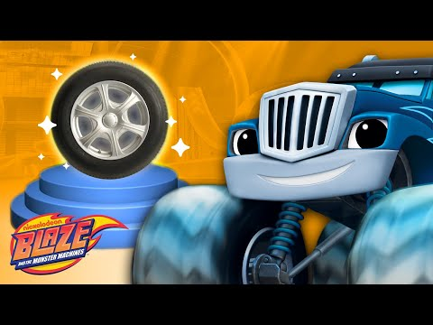 Learn About Wheels w/ Blaze | Truck Talk #1 | Blaze and the Monster Machines