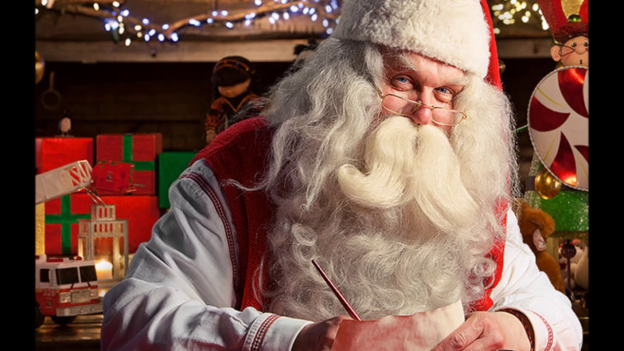 Santa Claus Live From The North Pole Youtube