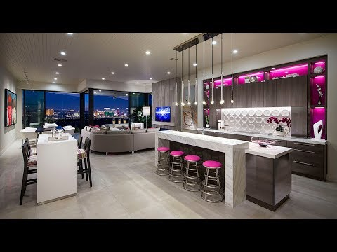 Ultra Modern Home For Sale Las Vegas City View |  $995K | 3,027 Sqft | 3 Beds | 3.5 Baths | 2 Car