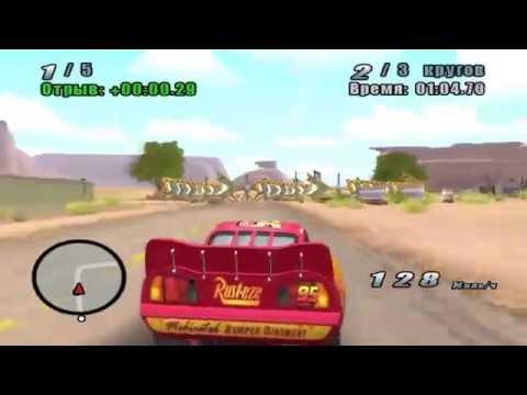 Молния Маквин едет на перегонки с друзьями Тачки Мультик про машинки. Disney Pixar Cars