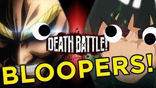 All Might VS Might Guy BLOOPERS!