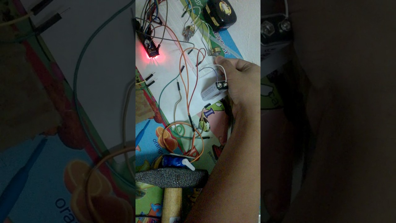 CRC 001 - Test RF Control - Before Mica Box - YouTube