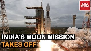 India Launches Chandrayaan 2 Successfully; Joins Elite Club Of U.S, Russia & China thumbnail