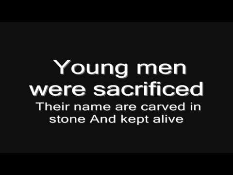 Sabaton - Cliffs Of Gallipoli (lyrics) HD
