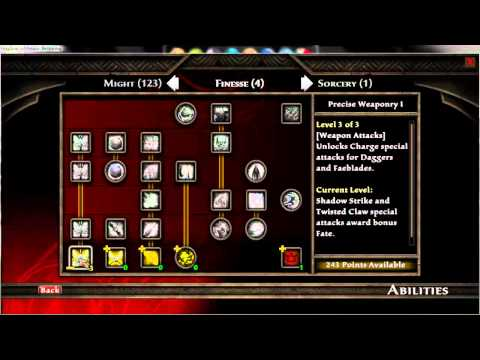 Kingdoms Of Amalur Reckoning - Abilities Cheat (PC Game)