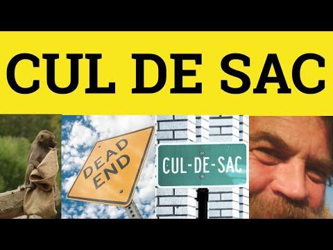 Cul de Sac - French in English - ESL British English Pronunciation