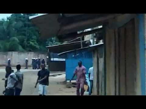 Révolution au Togo !!!