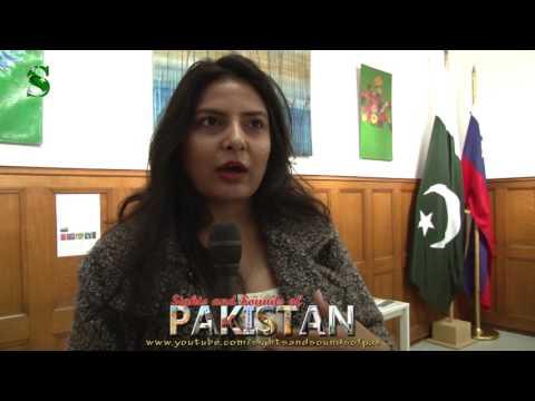Pakistani Artist: SORAYA SIKANDER at Embassy Art Exhibition in the Netherlands