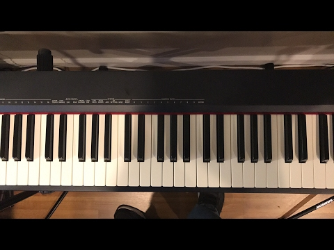 1st Live Jazz/Blues Piano Training Session