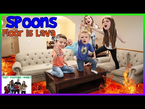 Spoons  Floor Is Lava  That YouTub3 Family