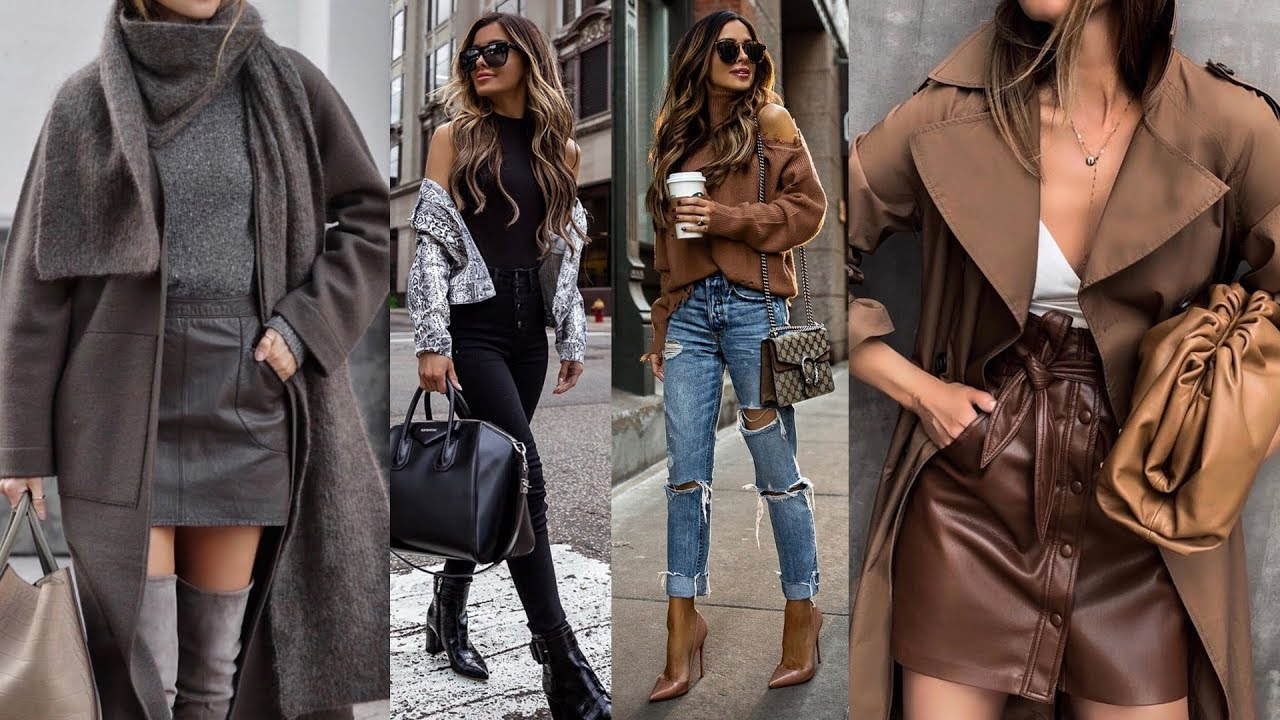 [VIDEO] - OUTFITS CASUALES | OTOÑO INVIERNO 2019-2020 /CASUAL WINTER OUTFIT IDEAS 2019/2020 - MODA SEXY 2