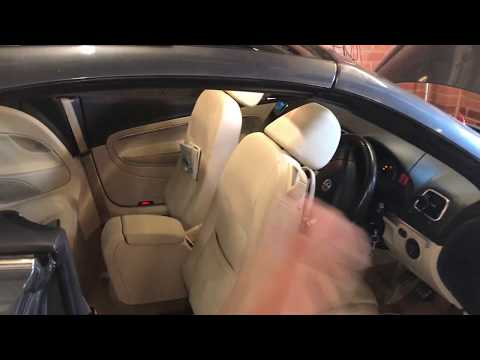 VW Volkswagen EOS how to close roof / sunroof manually