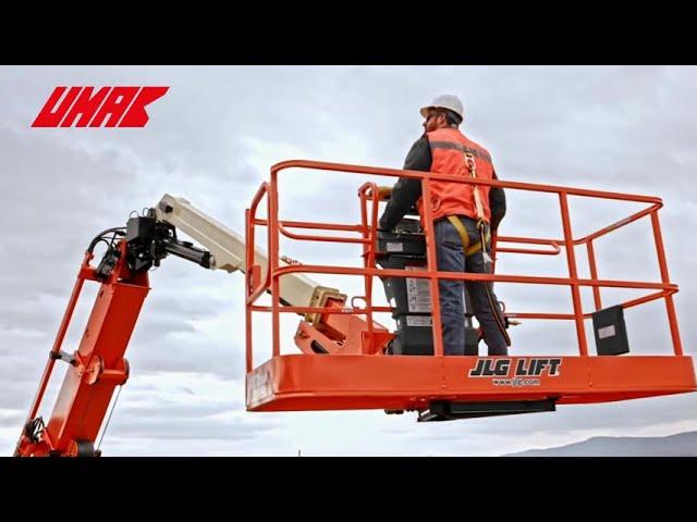 Dòng xe nâng người JLG sản xuất tại Mỹ