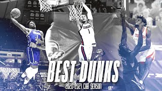 Best Dunks Of The 2020-21 College Basketball Season!