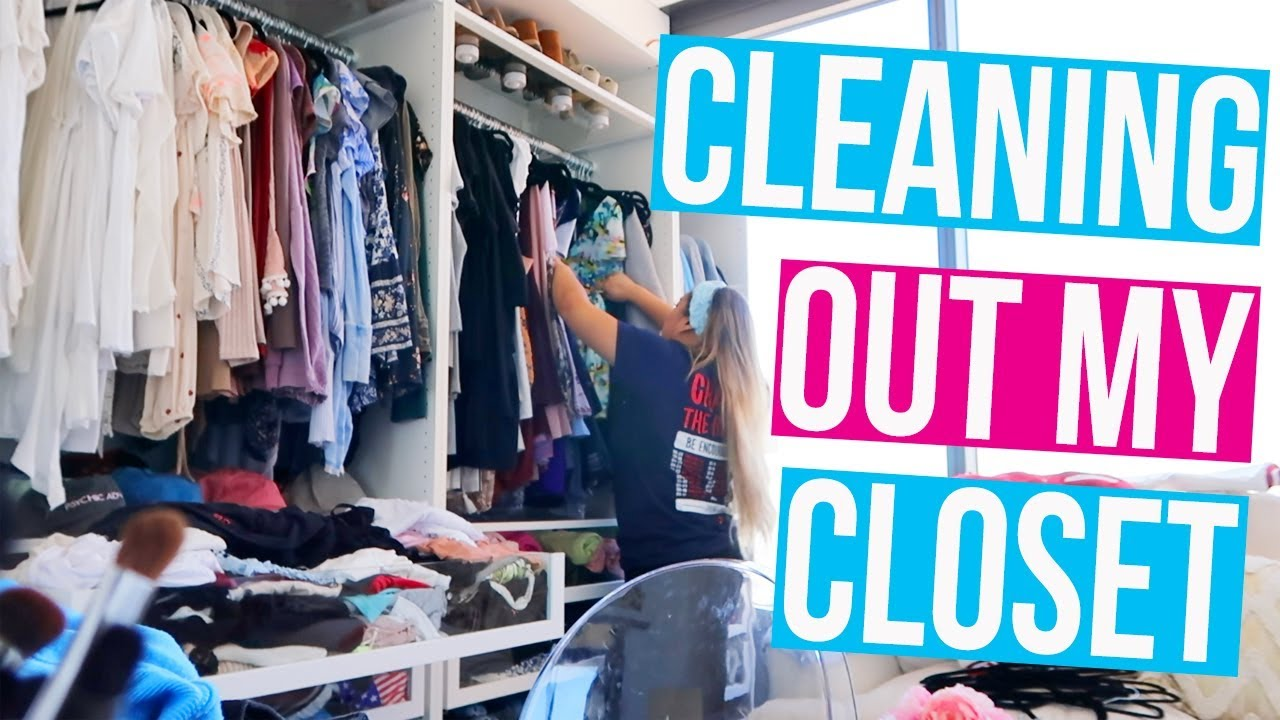 Cleaning out my closet youtube - Cleaning out your closet ...