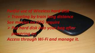 How to use wireless hard disk | Seagate Wireless HDD | Mobile Portable Hard Drive|Access Wirelessly